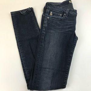 Big Star Jeans - Big Star Womens Jeans Size 27L Sweet Skinny Dark